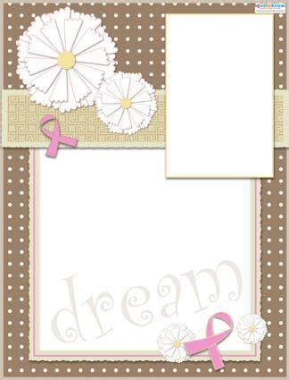 scrapbook layout designs free breast cancer awareness scrapbook layouts lovetoknow