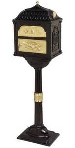 Colonial Pedestal Mailbox Victorian Mailbox For Sale At Mailboxworks Post Wall Mount