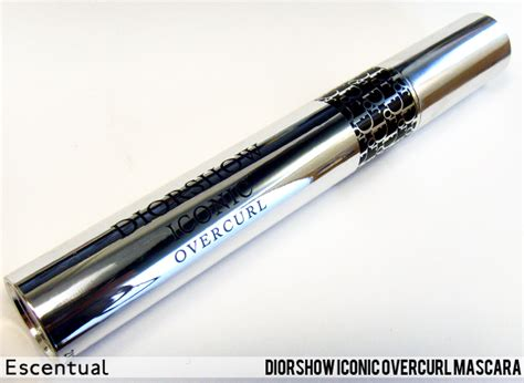 Diorshow Iconic Mascara Review by Overcurl Mascara Review Escentual S Buzz
