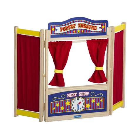 wooden table top theater dramatic play rc willey