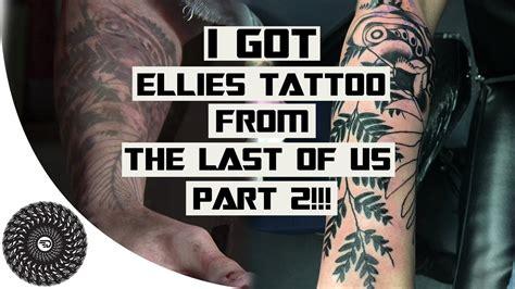 last of us ellie tattoo smittenkitten alexisthekitten twitter
