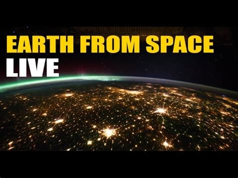 space live iss earth from space recorded live nasa hdev