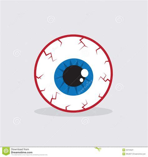 imagenes de ojos halloween globo del ojo inyectado en sangre ilustraci 243 n del vector