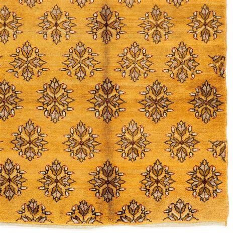 mustard rugs sale karapinar rug in mustard yellow color for sale at 1stdibs