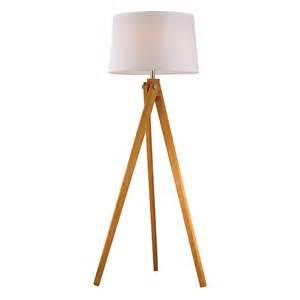 wooden tripod floor lamp rosenberryrooms com