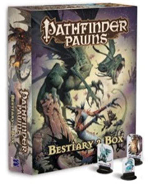pathfinder pawns traps treasures pawn collection books paizo pathfinder pawns bestiary 2 box