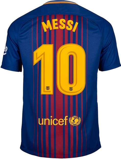 barcelona jersey 2017 messi nike lionel messi barcelona home jersey 2017 18