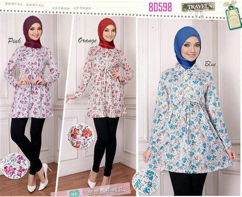 Baju Atasan Tali Kepang jual atasan wanita busui tali pinggang blus muslim baju blouse muslimah nayla collections