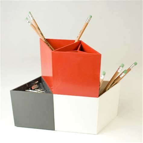 Modern Desk Supplies Rhombins Modern Desk Accessories By Canoe