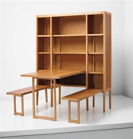 schrank mit integriertem tisch cabinet with integrated folding table and benches by gio