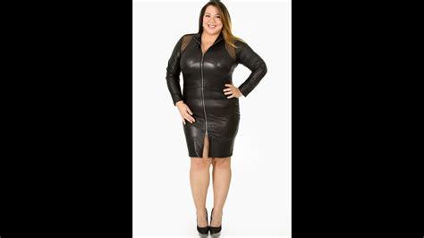 Skirt Naura plus size leather skirts