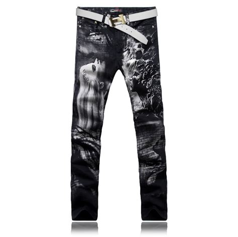 pattern of jeans 12 patterns men jeans cotton slim straight jeans men s