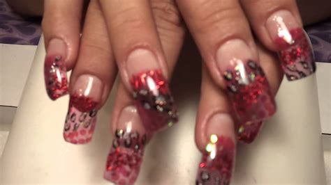 fotos de uñas de acrilico rojas u 241 as acrilicas decoradas rojas imagui
