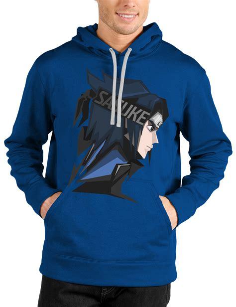 Hoodie Sasuke Vs sasuke royal blue hoodie swag shirts