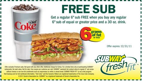 free printable subway coupons 2014 printable coupons subway coupons