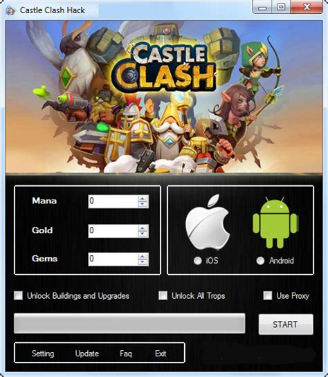 download game android mod castle clash castle clash age of legends hack 2016 play android hack
