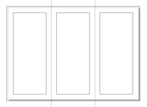 ukuran layout brosur jumapolo high school menyiapkan layout brosur 3 lipatan