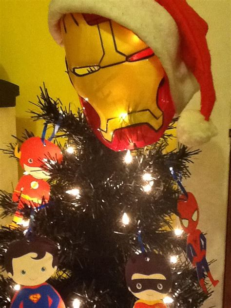 this is the top of his tree iron man superhero