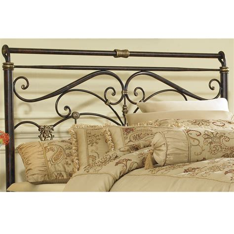 iron scroll headboard lucinda iron headboard marbled russet traditional scroll work