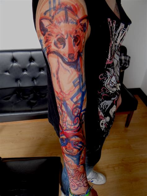 full arm tattoo designs awesome arm and sleeve best design ideas