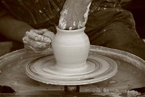 throwing a pot matthew filar fine art photography