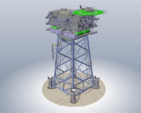 offshore jacket design exle offshore substation of the nordsee one wind park