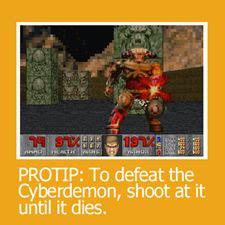 Protip Meme - dicas doom 3 como matar os chef 245 es round one games