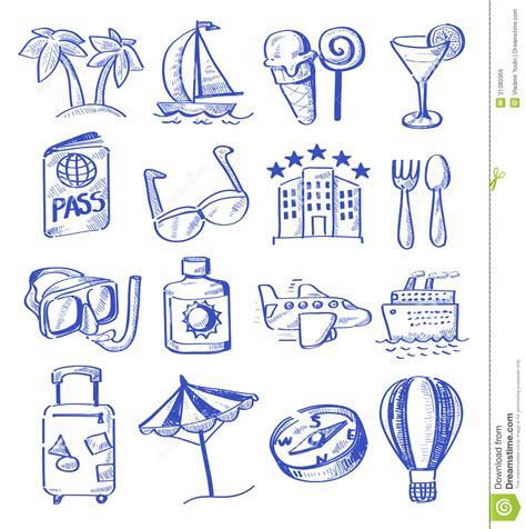 draw vector draw travel royalty free stock images image 31380369