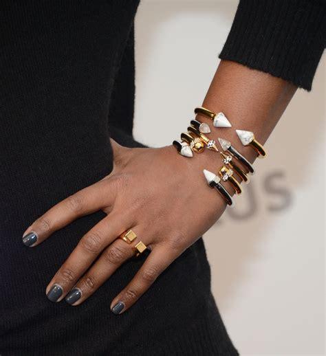 mindy kaling jewelry mindy kaling gold bracelet gold bracelet lookbook