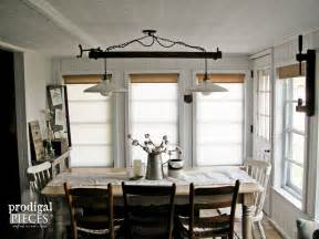 Dining Room Lighting Farmhouse Diy Farmhouse Lighting Kitchen Remodel Continues