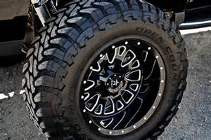 Black Truck Tires And Rims Rbp 89r Assassin Glossy Black Machined Wheels