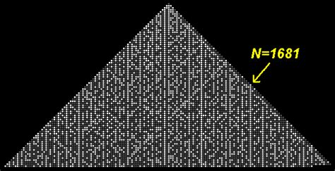 pattern for numbers only prime pyramids