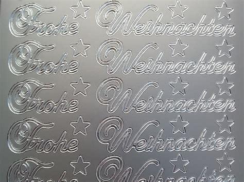 Aufkleber Weihnachten Gold by Sticker Frohe Weihnachten Gold Silber Rot Gr 252 N Starform