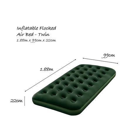 inflatable boat bed bestway inflatable flocked air bed outdoor fun