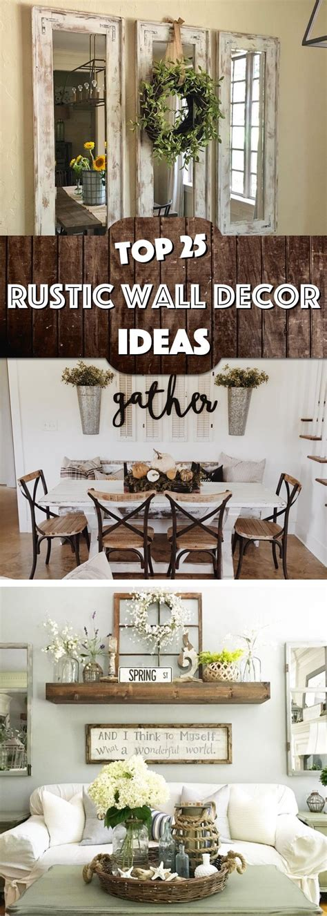 great exles of rustic wall art furniture home 25 must try rustic wall decor ideas featuring the most