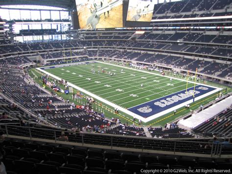 at t stadium sections at t stadium section 304 dallas cowboys rateyourseats com