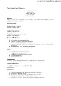 Sle Resume For Accountant Position by Resume Sle For Accounting Accountant Resume Exle