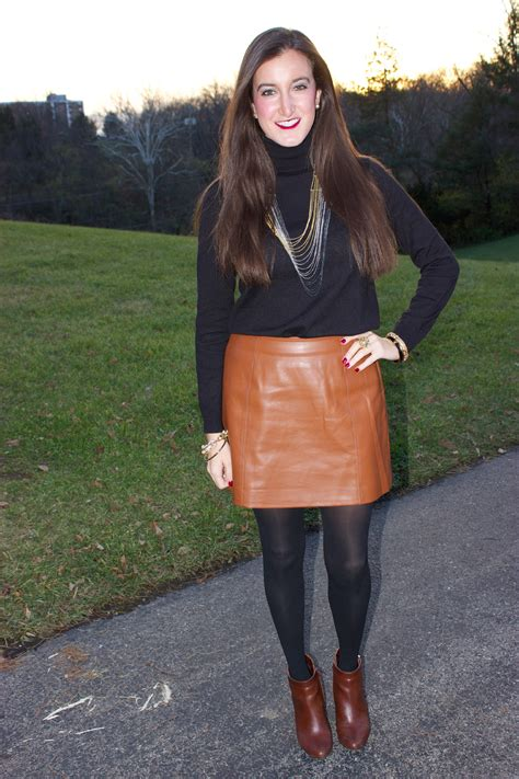 brown leather skirt brown leather skirt baubles to bubbles