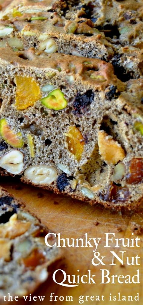 Chunky Fruit Nuts chunky fruit and nut bread the view from great island