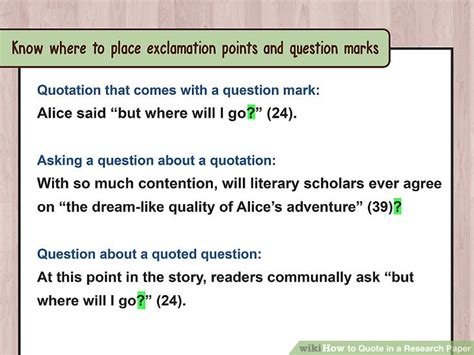 Can You Ask A Question In An Essay by How To Quote In A Research Paper With Exles Wikihow