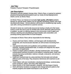 Therapist Duties by Physical Therapist Description Applecool Info