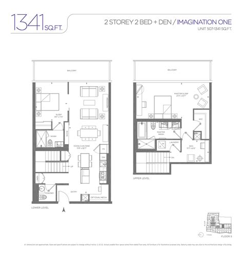 One Bloor Floor Plans | one bloor condo one bloor 2 storey floor plans