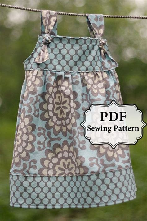 cute pattern clothes cute little girl dress pattern sewing pinterest