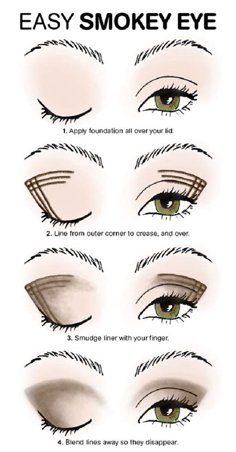 Tutorial Professional Makeup Techniques 4 by Easy Smokey Eye Tutorial Own Look