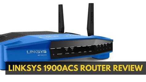 Wireless Linksys linksys 1900acs router review