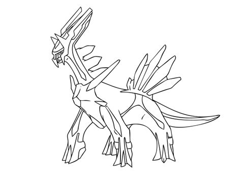 pokemon coloring pages palkia palkia free colouring pages
