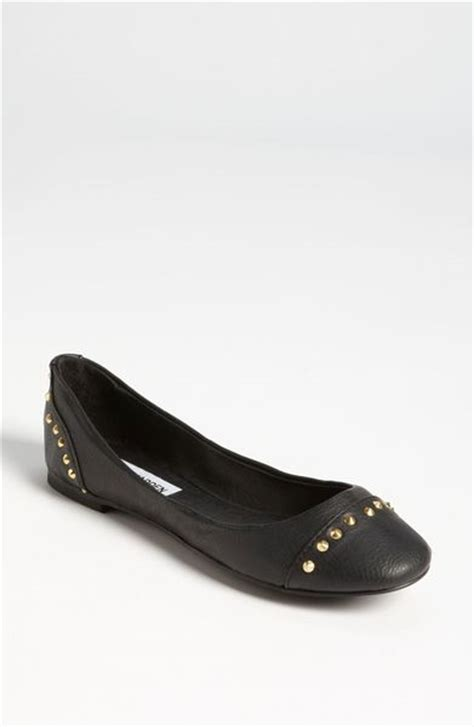 black steve madden flats leather sandals