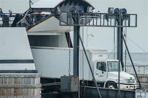 Ferry Door ssa will pull martha s vineyard at 5 pm to repair bow door
