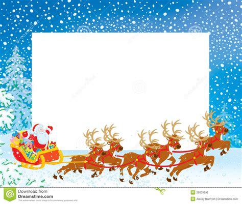 christmas themed borders winter themed santa claus border merry christmas happy