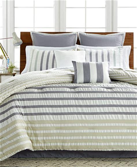 seersucker bedspreads keita seersucker 8 pc comforter sets bed in a bag bed bath macy s